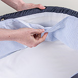 wash1 – washable lining in carrycot